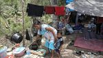 Nasib Pengungsi Gempa di Perbukitan Donggala