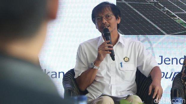 Dirjen Energi Baru Terbarukan dan Konservasi Energi Kementerian ESDM Rida Mulyana