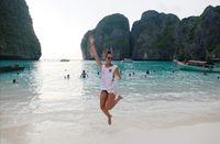 Maya Bay yang jadi destinasi favorit turis di Thailand (REUTERS/Soe Zeya Tun)