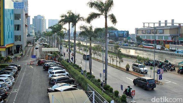 Suasana Kali Malang di Kota Bekasi (Randy/detikTravel)