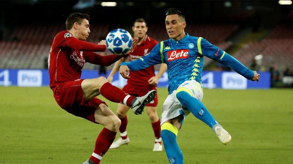 Liverpool Wajib Menang Lawan Napoli Tanpa Kebobolan