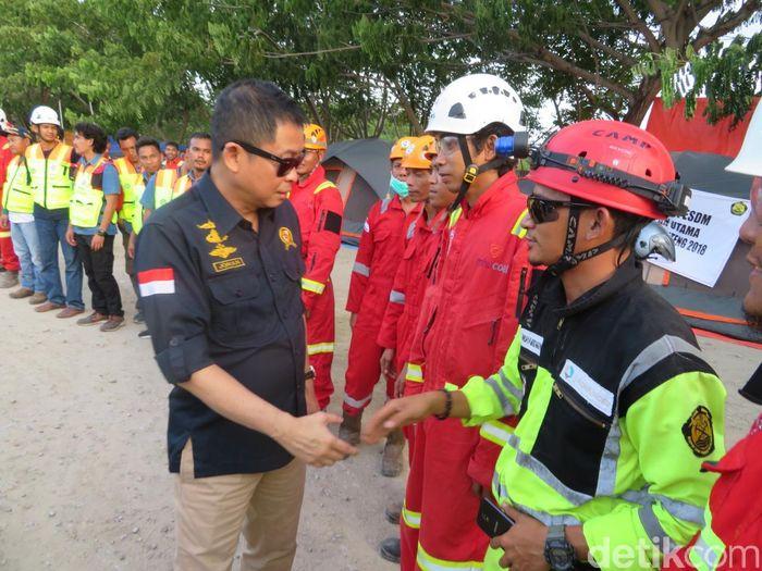 Hari ini Jonan mengecek kondisi kelistrikan hingga BBM di Palu, Sulawesi Tengah.