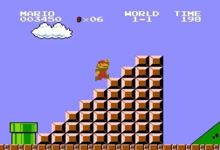 Hoax di Game, Super Mario