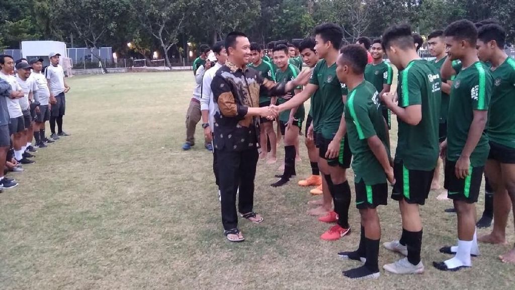 Akan Tampil di Piala Asia, Timnas U-19 Dapat Dukungan dari Menpora