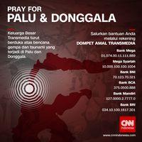 Transmedia Buka Dompet Amal untuk Korban Gempa Palu-Donggala