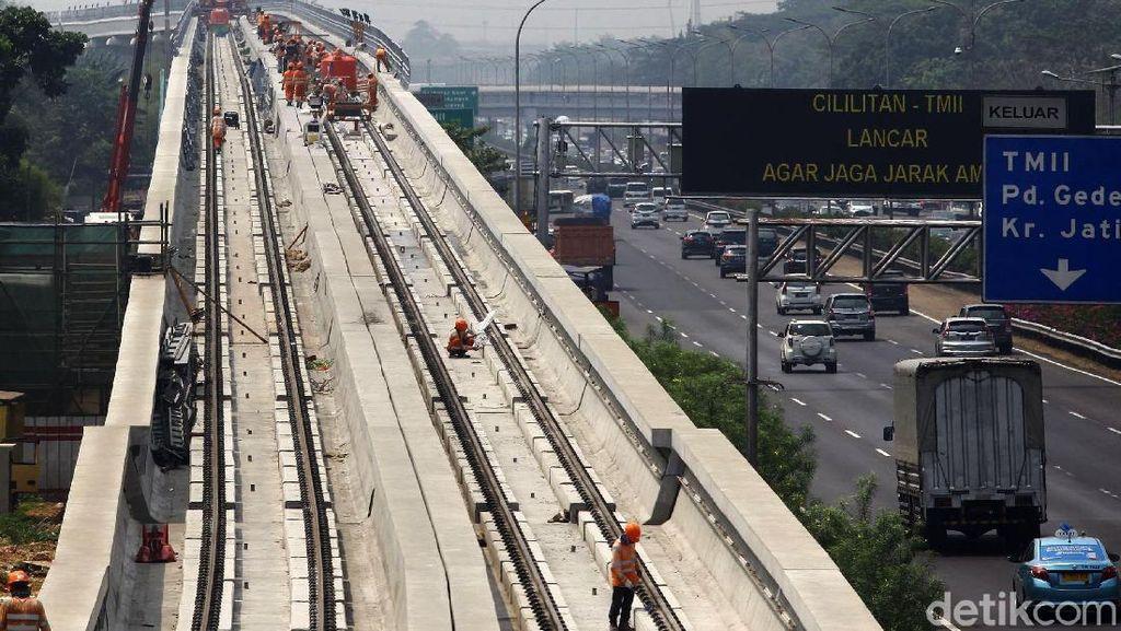 Pasca Dikritik JK, Adhi Karya Kaji Ulang LRT Cibubur-Bogor