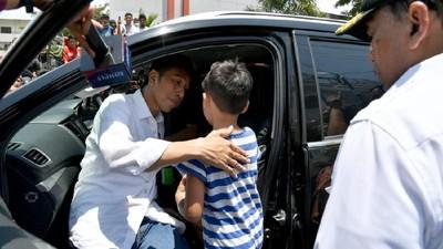 Ketegaran Izrael, Bocah Korban Gempa Palu yang Bertemu Jokowi