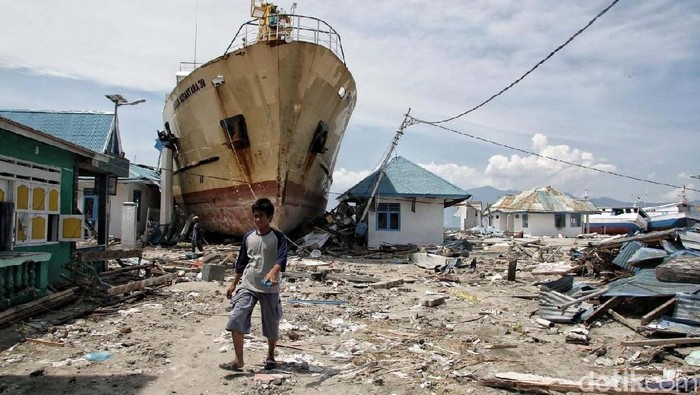 Daerah terdampak bencana alam di Sulawesi Tengah (Foto: Pradita Utama)