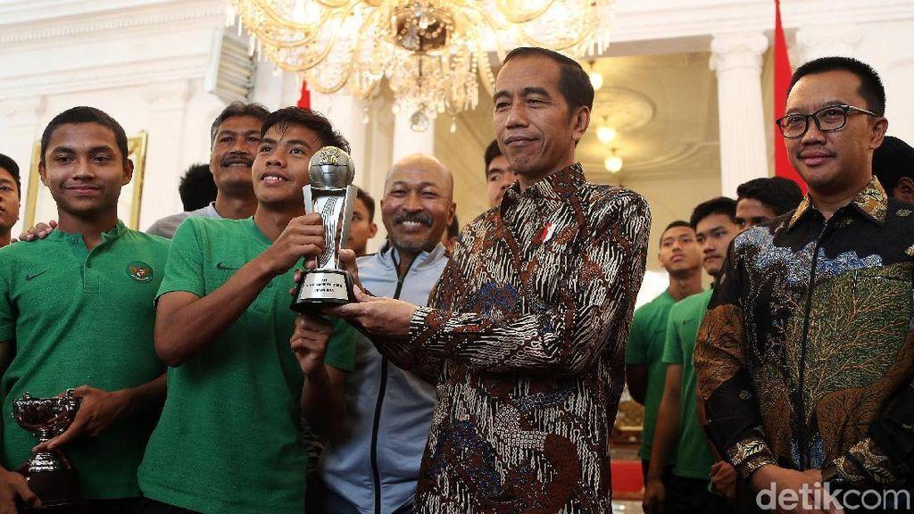 Bangganya Kapten Timnas U-16 Bisa Bertemu Presiden Jokowi