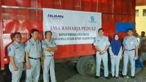 Jasa Raharja Salurkan Bantuan Sembako untuk Korban Gempa Sulteng