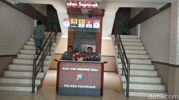 Wali Kota Pasuruan Masih Jalani Pemeriksaan KPK di Polres Pasuruan