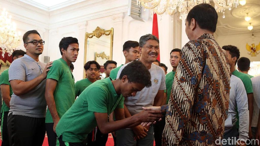 Ini Pesan Presiden Jokowi untuk Timnas U-16