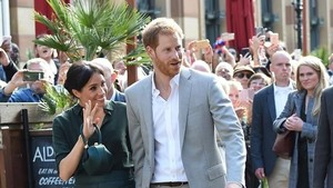 Bahagianya Pangeran Harry dan Meghan Markle Disambut Anak-anak di Sussex