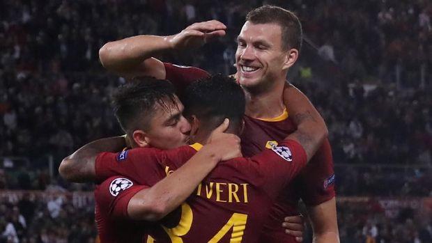 AS Roma di atas kertas lebih diunggulkan atas Porto. (