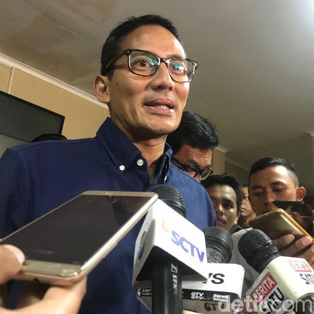 Kampanye di Yogyakarta, Sandiaga Uno Promosi Film Hanum & Rangga