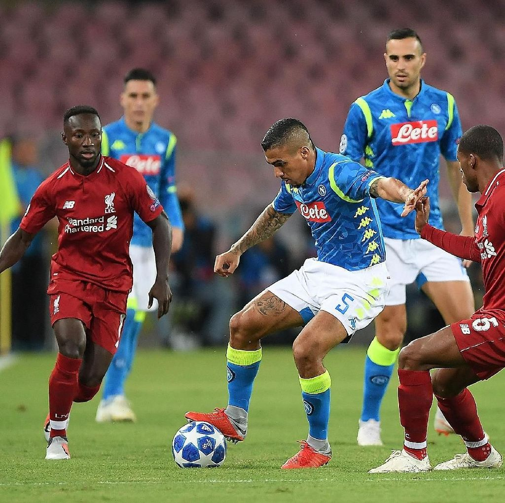 Napoli Tak Akan Remehkan Liverpool