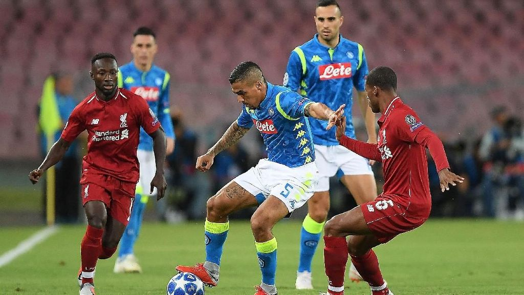 Jadwal Liga Champions: Liverpool vs Napoli, Barcelona vs Tottenham