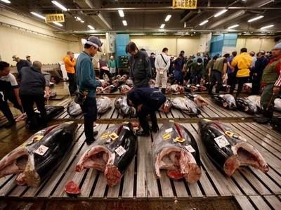 Pasar Tsukiji yang Fenomenal di Jepang Resmi Ditutup dan Direlokasi