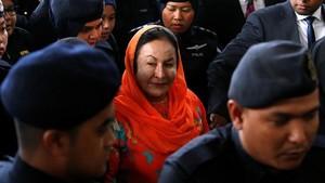 Dijerat 17 Dakwaan Terkait 1MDB, Istri Najib: Saya Baik-baik Saja