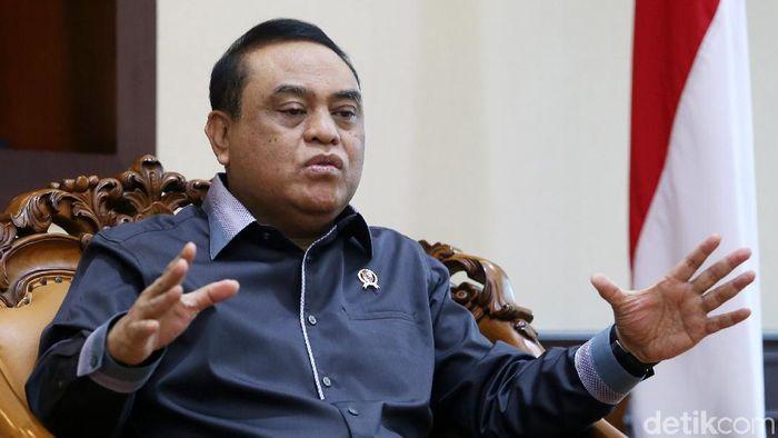 Menteri Pendayagunaan Aparatur Negara dan Reformasi Birokrasi (MenPAN-RB) Syafruddin/Foto: Ari Saputra