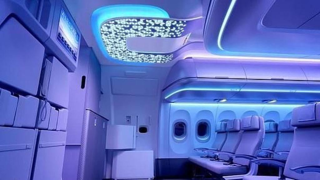 Inovasi Baru Pesawat Airbus: Kursi Pintar Hingga Sensor Canggih