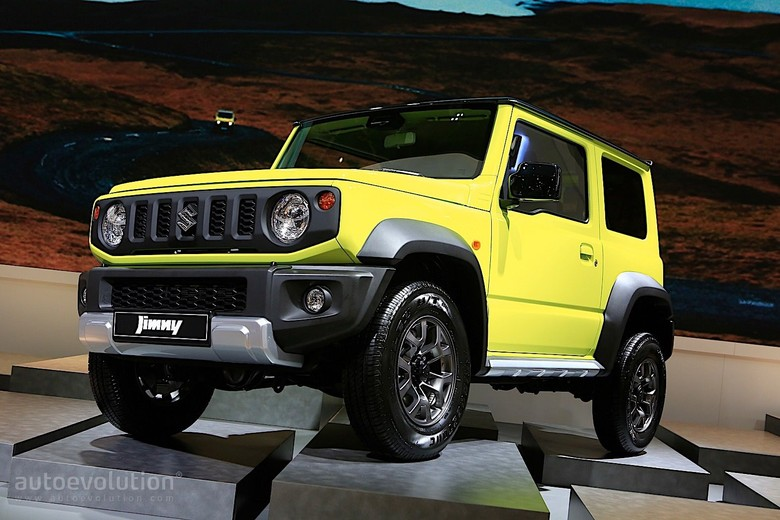 Suzuki Jimny. Foto: Pool (Autoevolution)