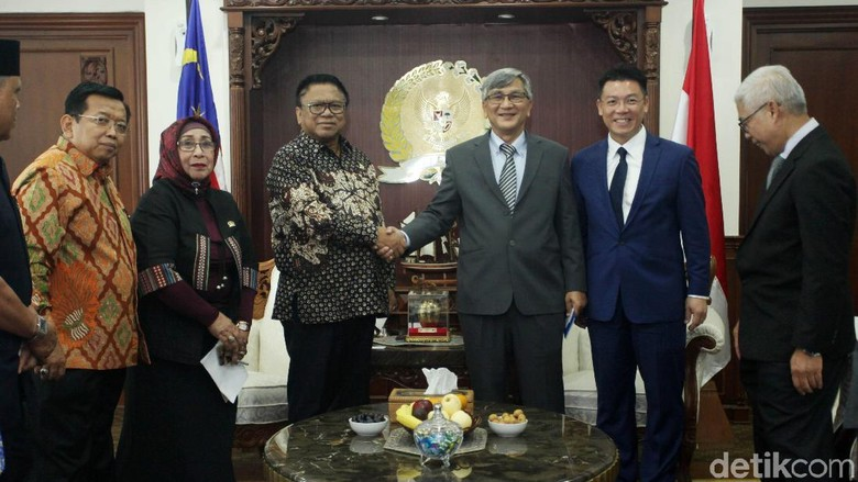 OSO Terima Ketua Parlemen Malaysia