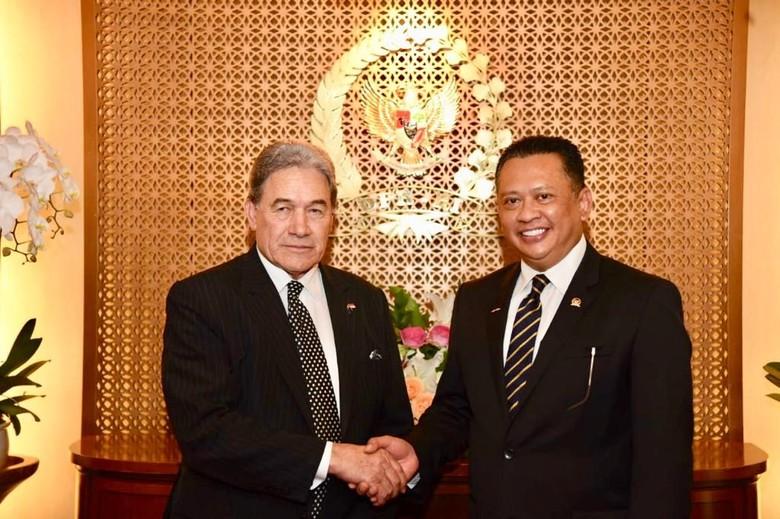 Bamsoet Dukung Jokowi Tingkatkan Hubungan dengan Selandia Baru