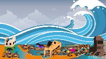 Pakar ITS Beberkan Cara Hadapi Potensi Tsunami 20 Meter di Jatim