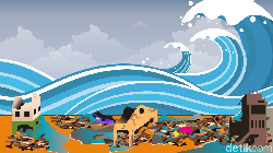 Menurut BMKG, Tsunami 20 Meter Hanya Butuh Waktu 20 Menit Capai Daratan