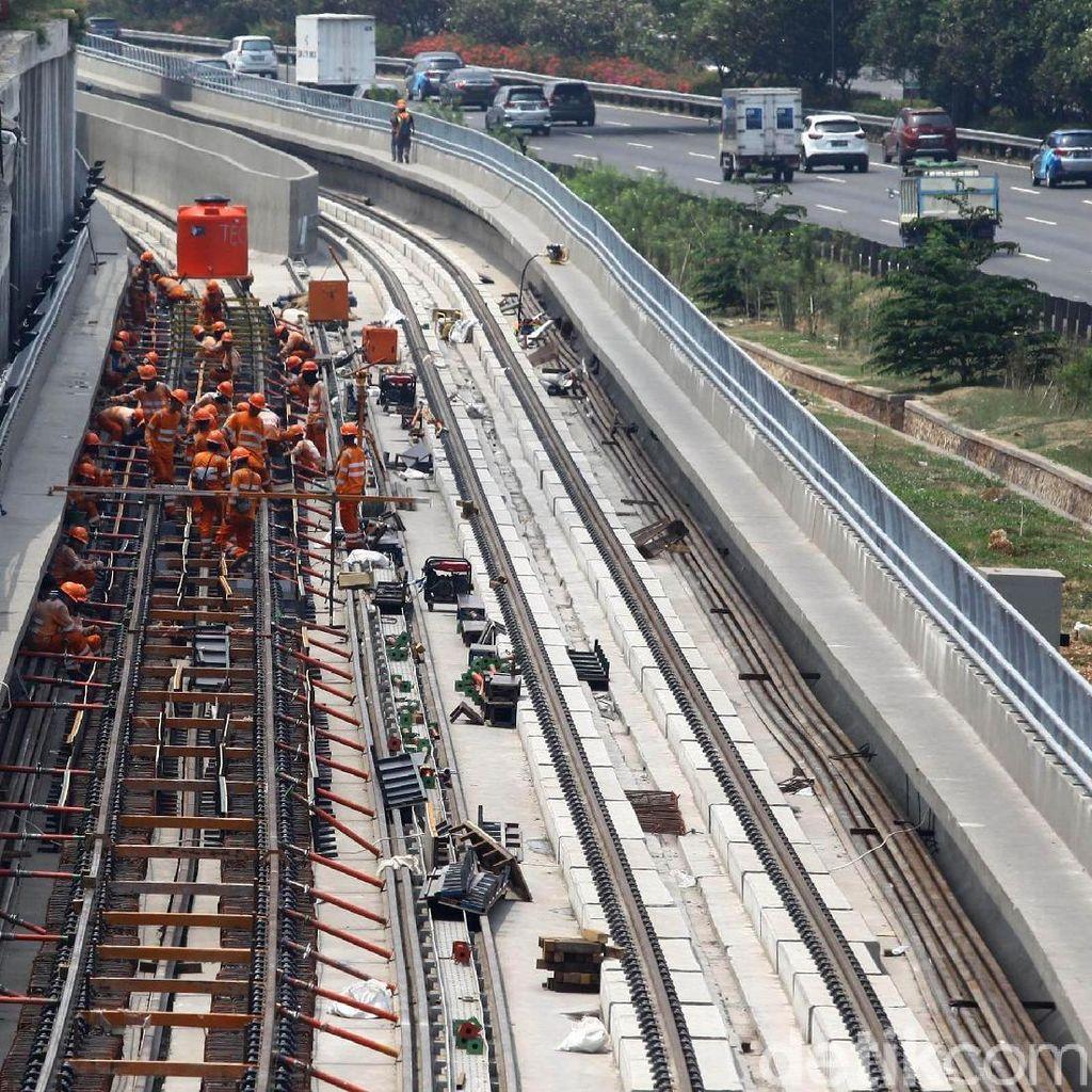 Ragam Isu Proyek LRT: Dari Kecelakaan Kerja hingga Sindiran Prabowo