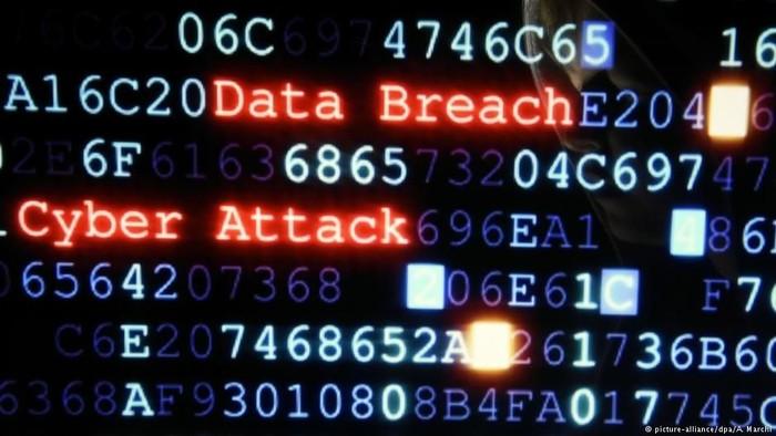 Ilustrasi serangan siber. Foto: DW News