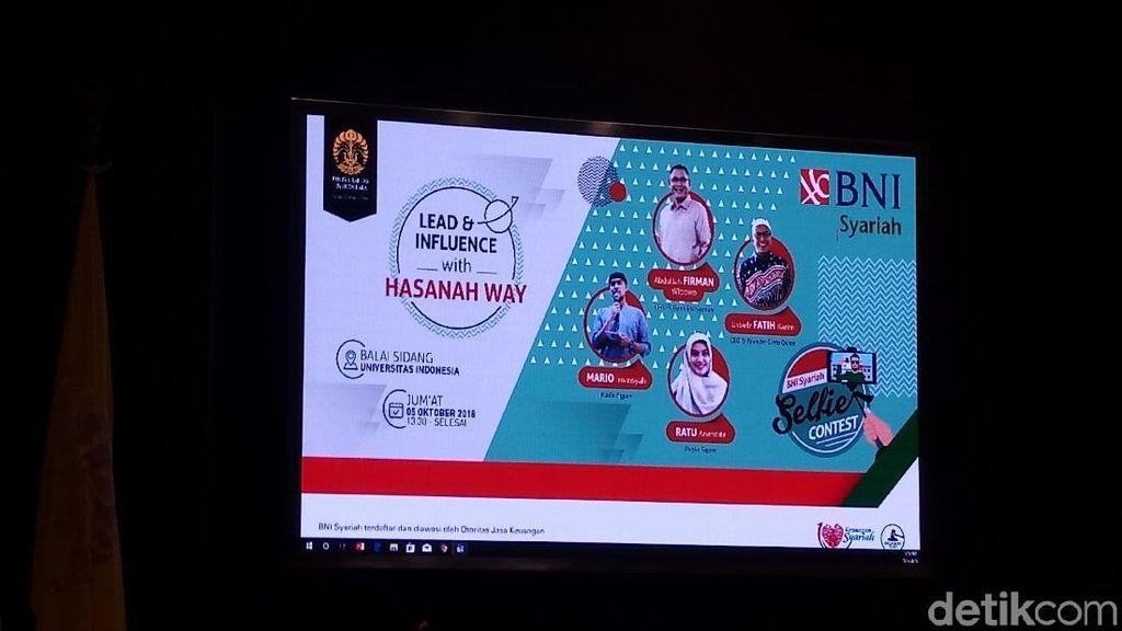 Jaring Mahasiswa, BNI Syariah Gelar Hasanah Leadership Way