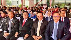 Di HUT TNI, Ketua DPR Sebut Prajurit Benteng Kedaulatan Rakyat