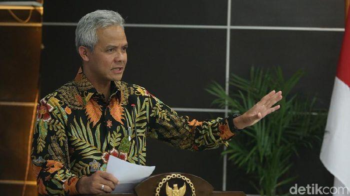 Gubernur Jawa Tengah Ganjar Pranowo/Foto: Ari Saputra