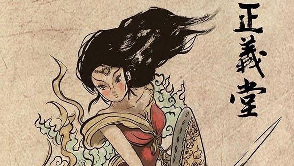 Begini Jika Wonder Woman dkk Jadi Sosok Asal China