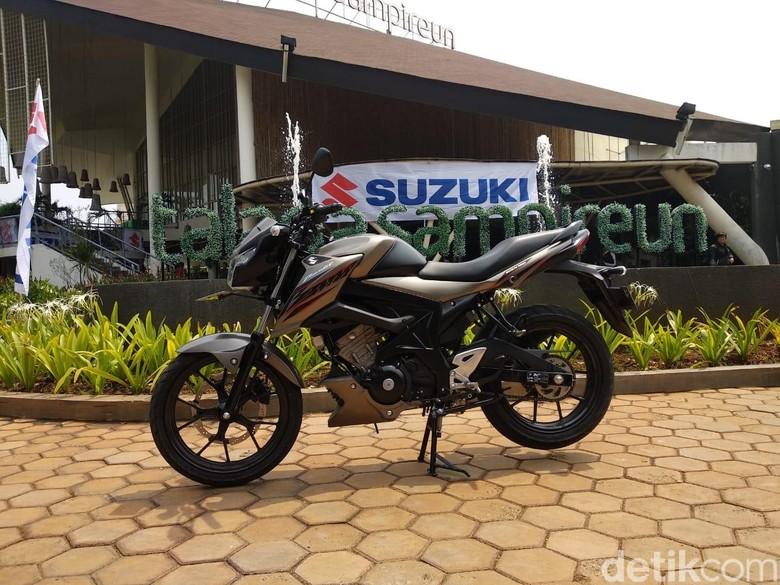 Suzuki GSX150 Bandit. Foto: Luthfi Anshori
