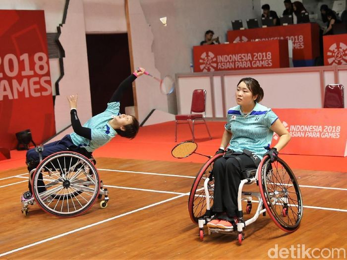 Para atlet di Asian Para Games 2018. (Foto: Agung Pambudhy/detikcom)