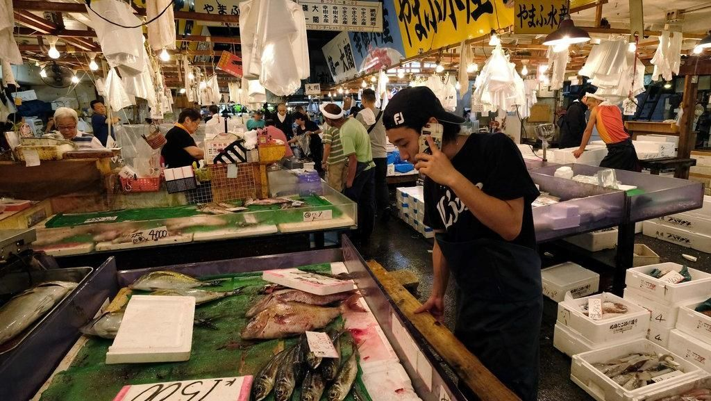 Tinggal Kenangan, Pasar Ikan Tsukiji di Tokyo Akan Segera Pindah