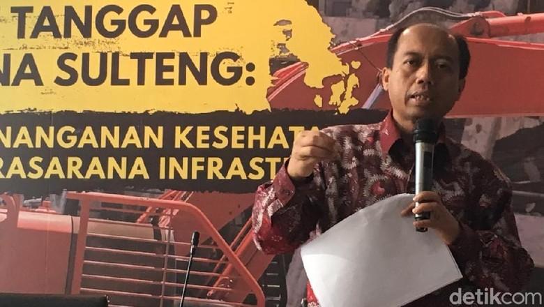 BNPB: Kabar Pemda Sulteng Tak Banyak Berperan Itu Tak Benar