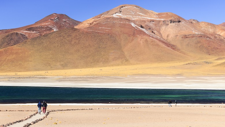 Ilustrasi wisatawan di Chile (Discovery Chile)