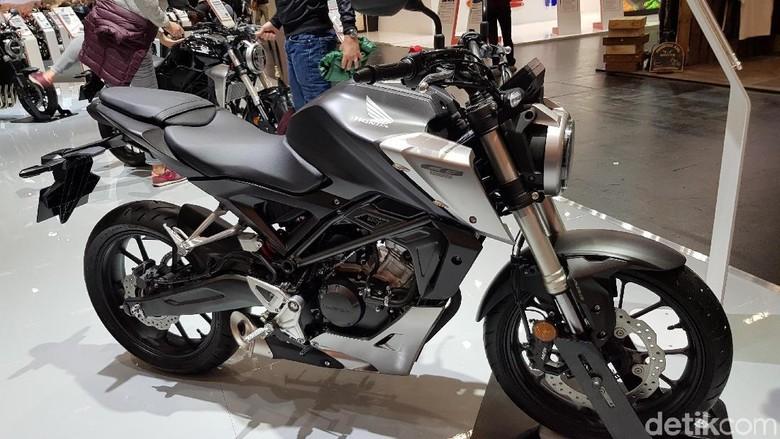Honda CB125R Foto: Ahmad Toriq