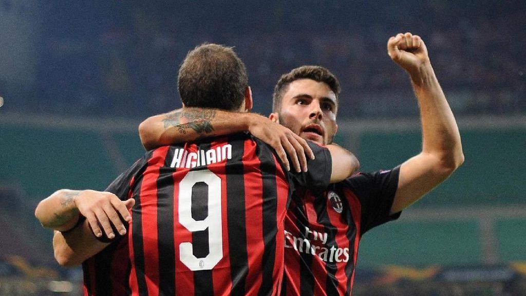 AC Milan Kalahkan Olympiakos dalam 9 Menit