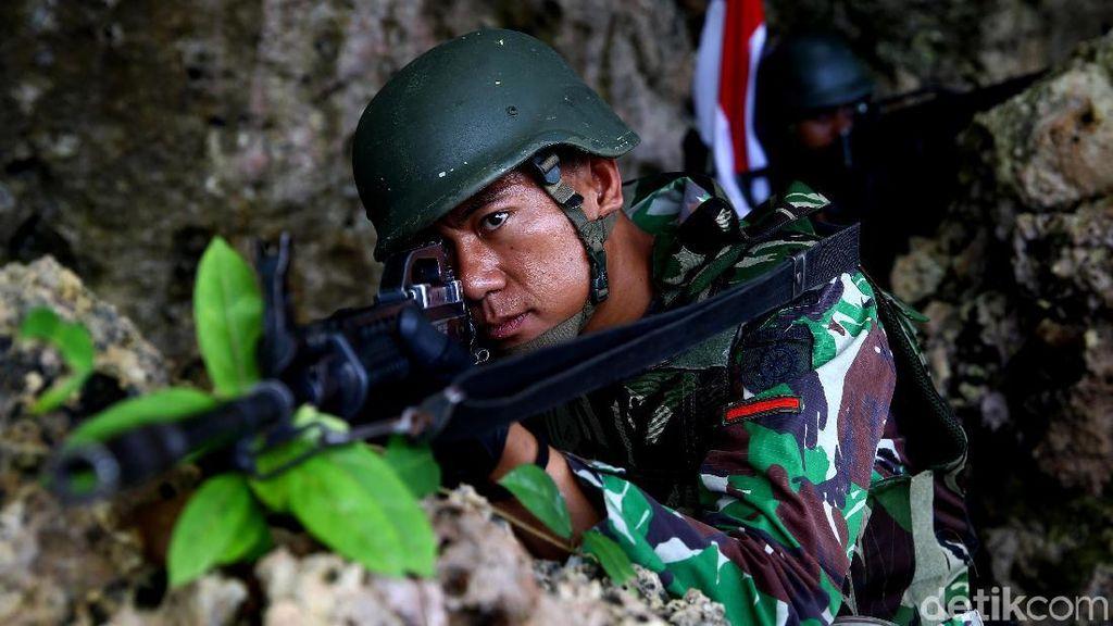 Perjuangan Menembus Perbatasan RI-PNG Menuju Patok Negara