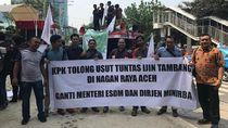 Senator Aceh Demo di KPK, Tuntut Usut Izin Tambang Emas