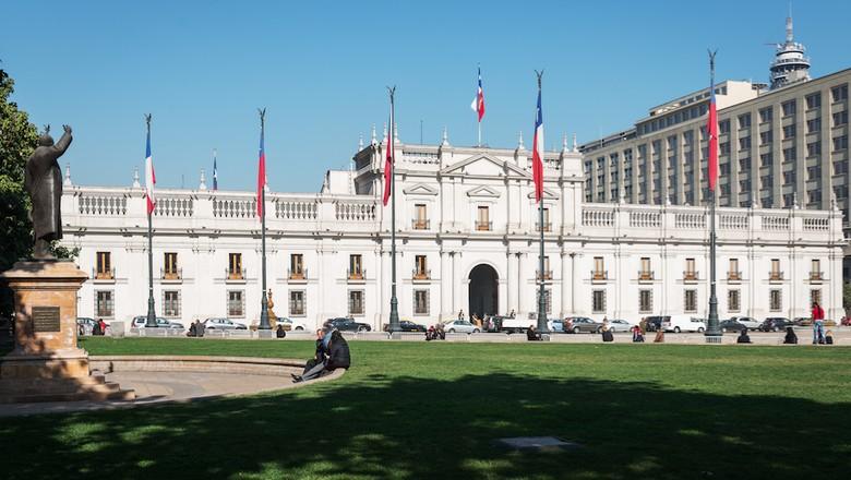 Ilustrasi ibu kota Santiago di Chile (Discover Chile)