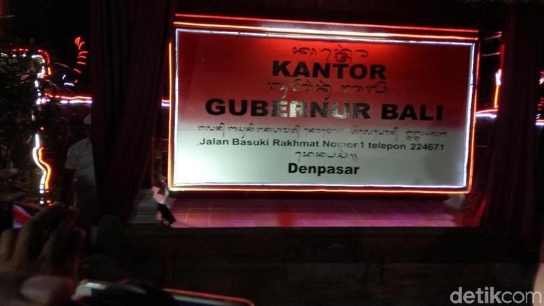 Foto: Peresmian Aksara Bali (Aditya Mardiastuti/detikTravel)