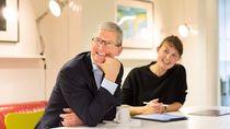 Momen Kulineran Tim Cook, CEO Apple yang Jago Masak dan Suka Ngopi