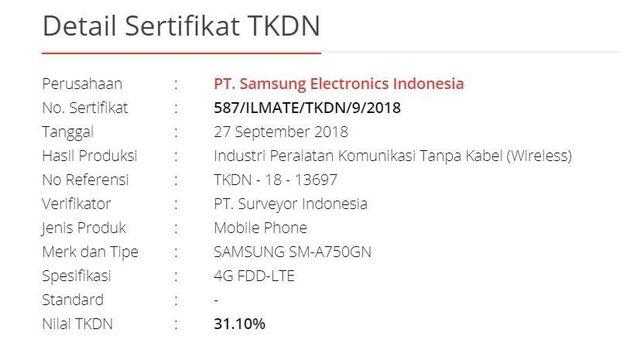 Ponsel Empat Kamera Samsung Dapat Restu Kominfo