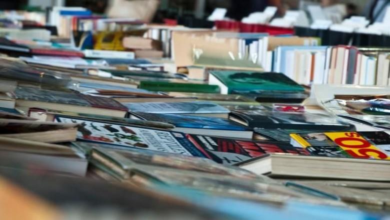 Ilustrasi bazar buku/ Foto: iStock